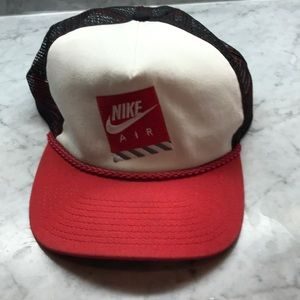 Vintage Nike Air Retro Snap Back Mesh Hat